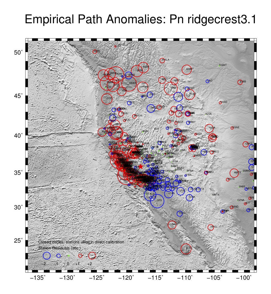 empirical path anomaly plot